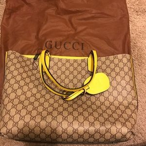 Gucci irreversible tote